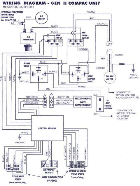 vintage electric fan wiring diagram air