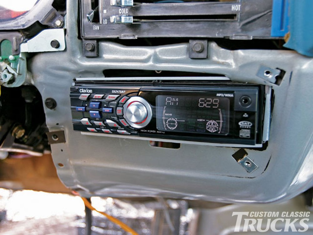 medium resolution of 1979 chevy c10 stereo install hot rod network 81 chevy pickup wiring diagram 3
