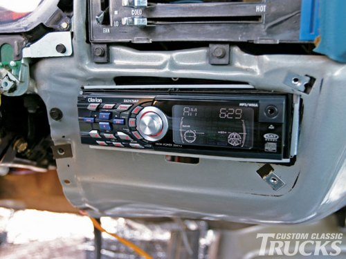 small resolution of 1979 chevy c10 stereo install hot rod network