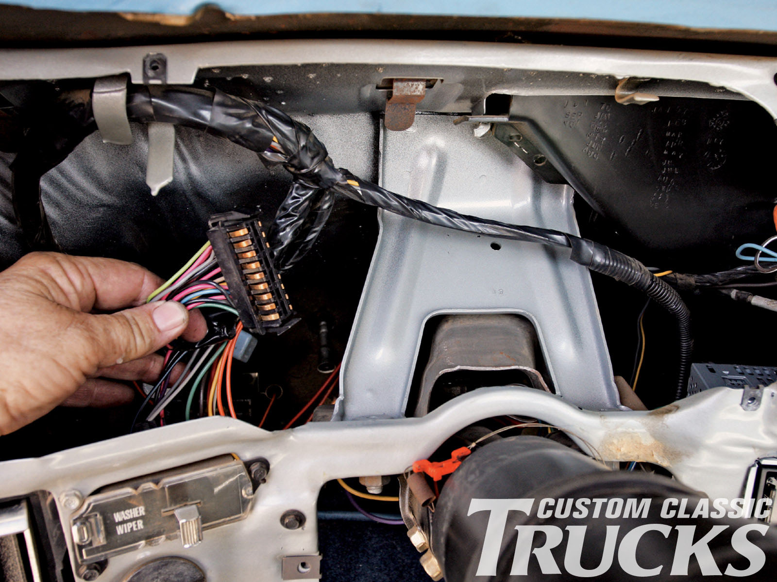 wiring harness 1987 chevy c10