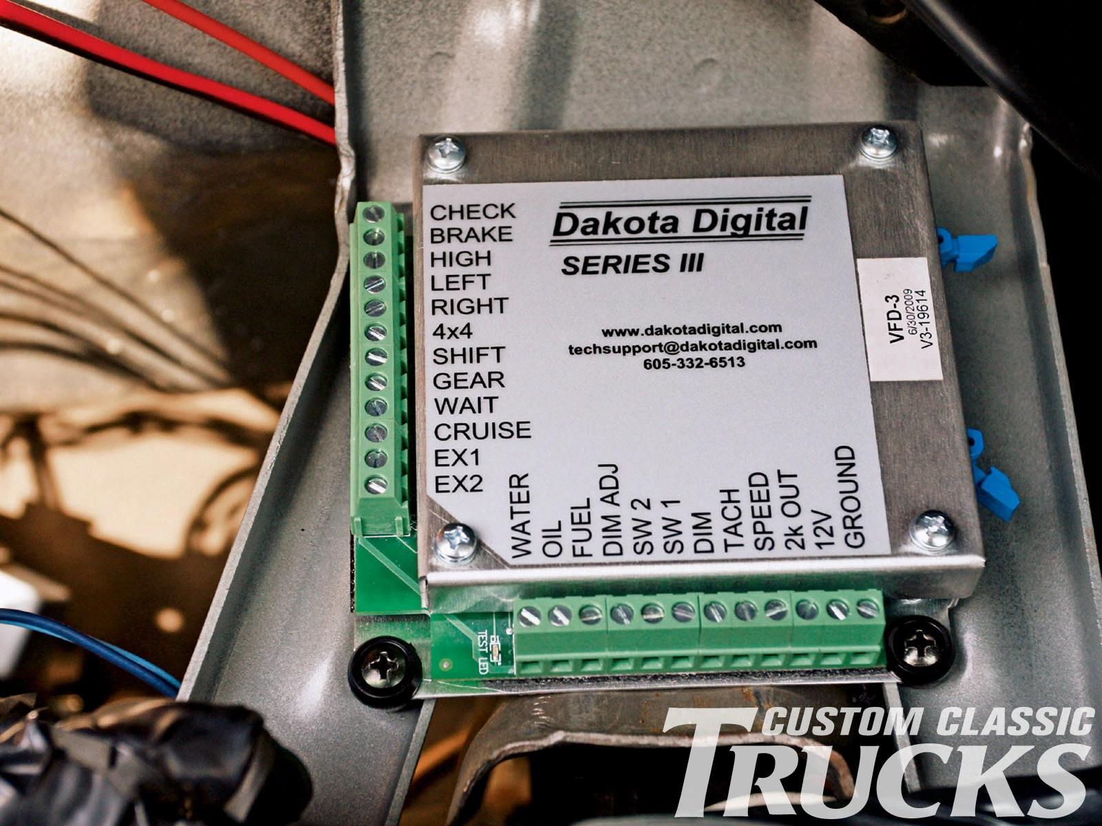 dakota digital wiring diagram 1979 corvette 1973 1987 chevy c10 and gmc truck gauge