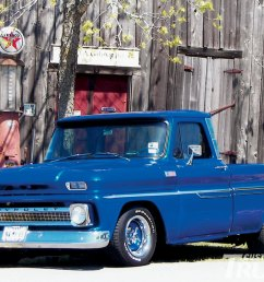 0911cct 01 z 1965 chevy c10 pickup truck restored front grill [ 1600 x 1200 Pixel ]