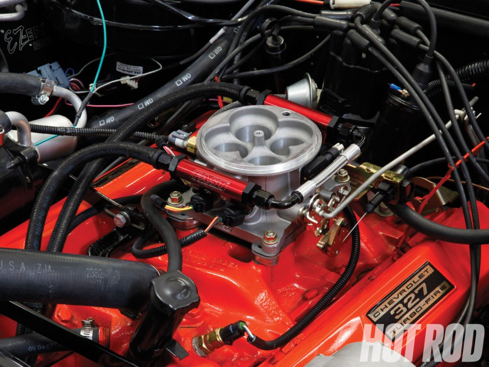 medium resolution of efi system conversion we install the fast ez kit on a 65 tuned port injection wiring harness diagram