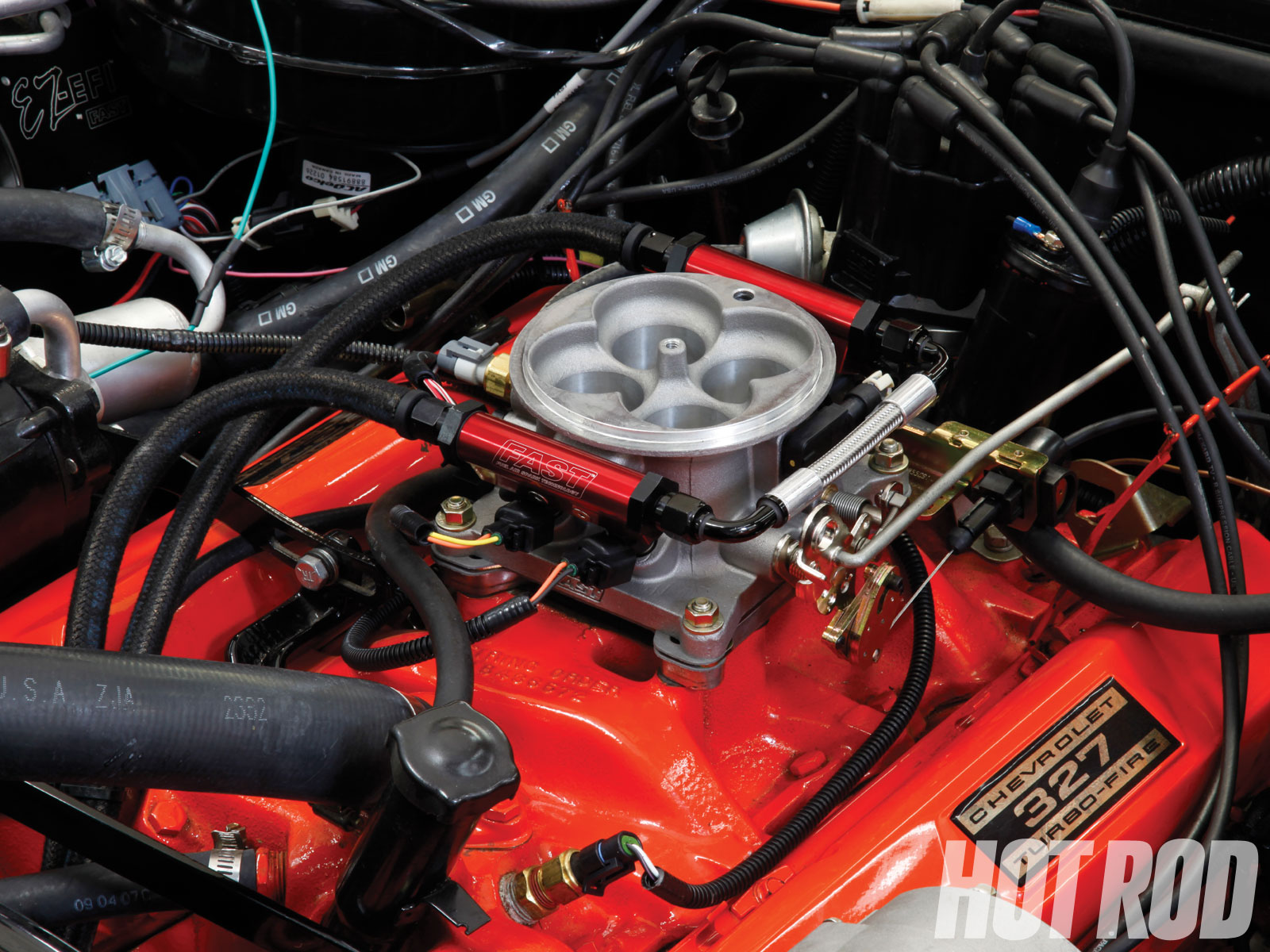 hight resolution of efi system conversion we install the fast ez kit on a 65 tuned port injection wiring harness diagram