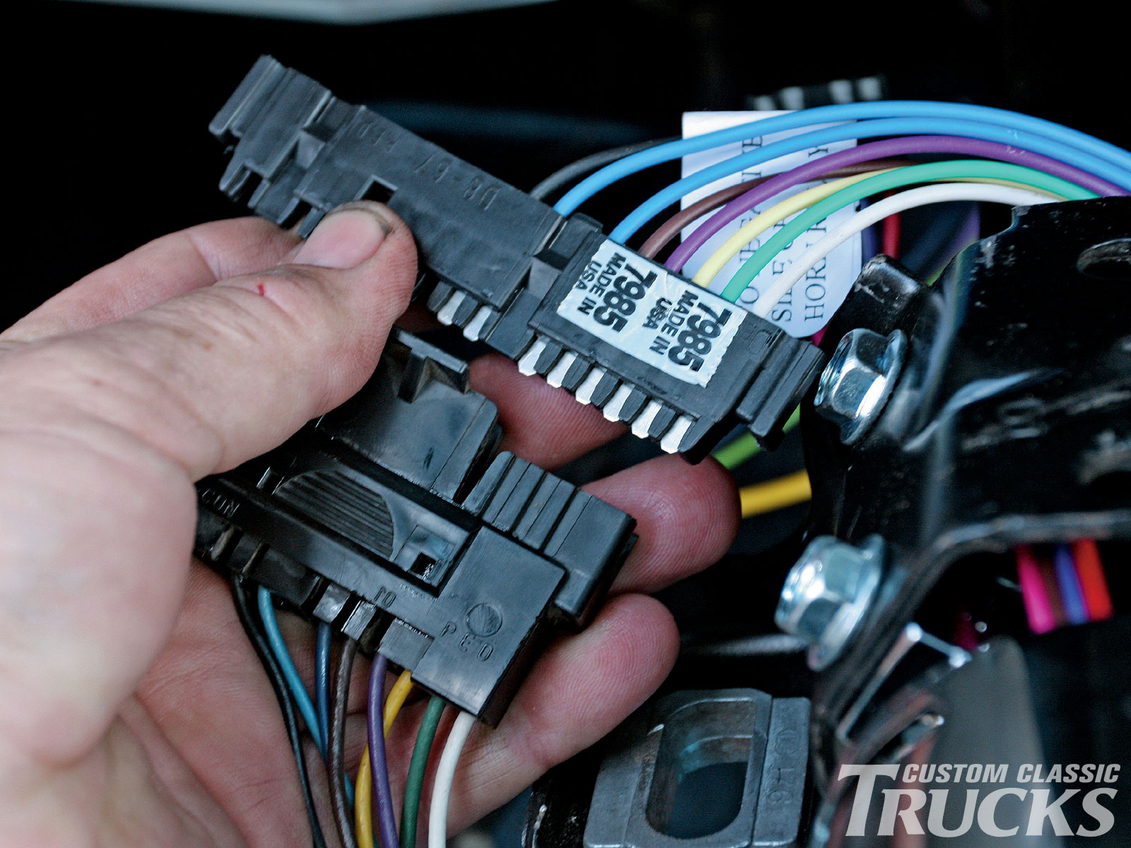 Gm Steering Column Wiring Colors