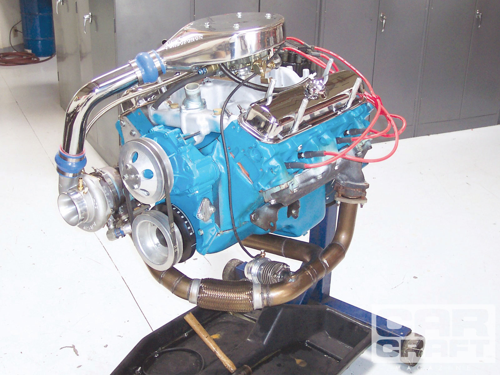 hight resolution of ccrp 0912 01 turbo pontiac 400 engine build