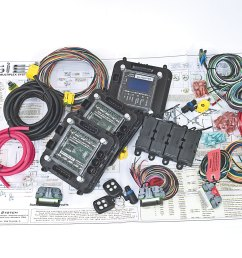 multiplexing wiring kit simplifying modern hot rodders wiring hot rod power steering kits hot rod wiring harness kits [ 1600 x 1200 Pixel ]