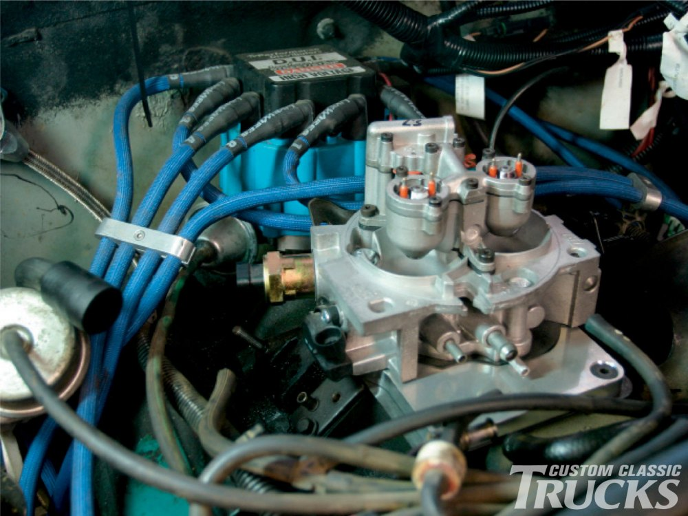 medium resolution of chevy 350 small block carb to tbi conversion hot rod network 3 wire harness carb to tbi wiring harness kit