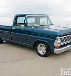 1002cct 01 o 1970 ford f100 pickup truck restored vintage truck [ 1600 x 1200 Pixel ]