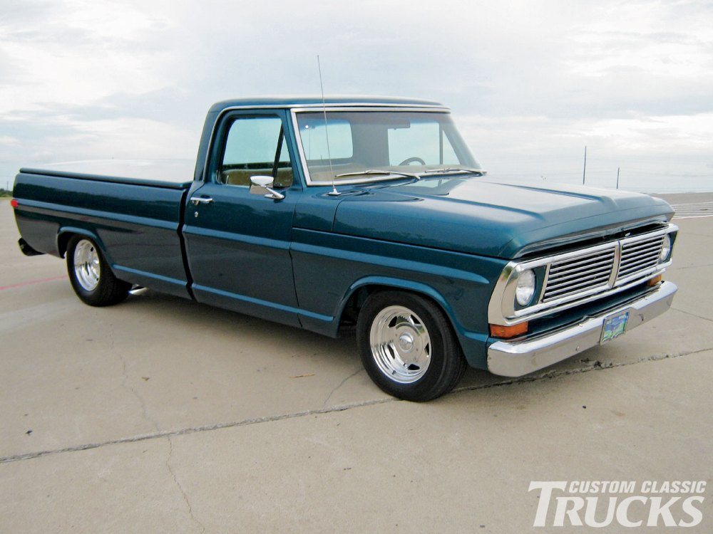 medium resolution of 1002cct 01 o 1970 ford f100 pickup truck restored vintage truck