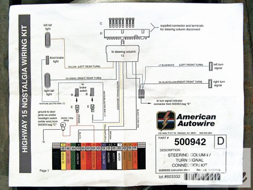 small resolution of 1964 chevy turn signal wiring diagram wiring diagrams1964 impala steering column turn signal switch diagram schema