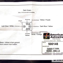 Hot Rod Turn Signal Wiring Diagram Car Computer Network Steering Column Bypass In The Blink Of A