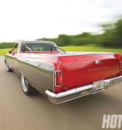 hrdp 1003 01 1965 chevy el camino rear view [ 1600 x 1200 Pixel ]