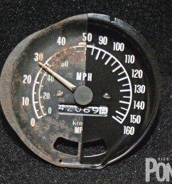 hppp 1006 01 o trans am gauge restoration comparison [ 1600 x 1200 Pixel ]