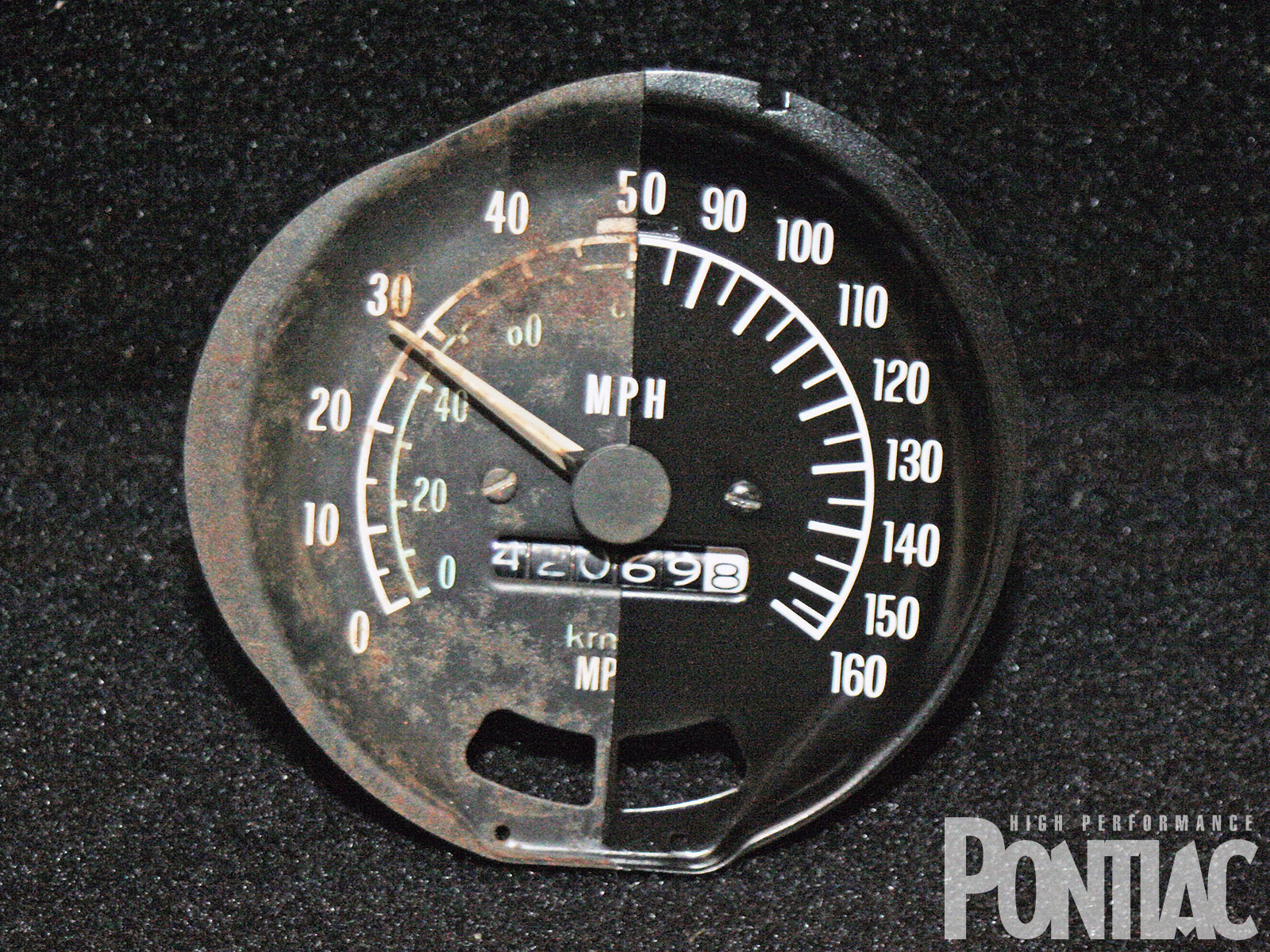 hight resolution of hppp 1006 01 o trans am gauge restoration comparison