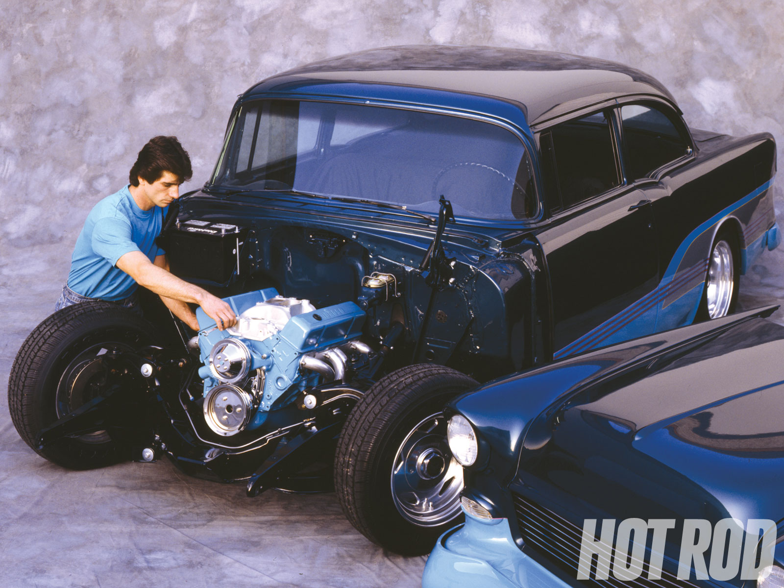 hight resolution of  monte carlo wiring diagram hrdp 1004 01 1955 chevys chevy hot rod