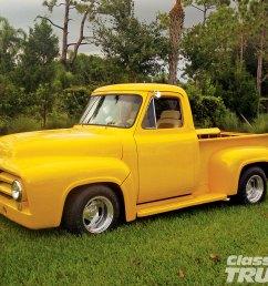 1005clt 04 o 1954 ford f100 pickup truck restored front bumper [ 1600 x 1200 Pixel ]
