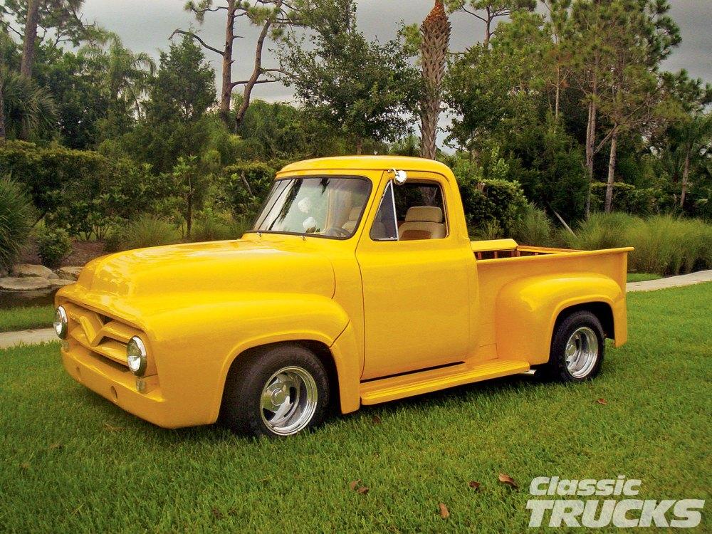 medium resolution of 1005clt 04 o 1954 ford f100 pickup truck restored front bumper