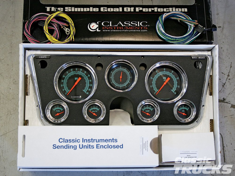 medium resolution of classic instruments gauge panels for 1967 1972 chevys and gmcs hot 1968 chevy c10 instrument cluster wiring also 1969 plymouth road