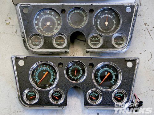 small resolution of 1968 1972 chevrolet and gmc truck instrument panel wiring harness 72 chevy truck at 67 72