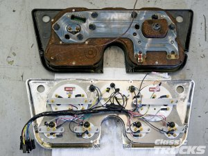 Classic Instruments Gauge Panels For 19671972 Chevys And