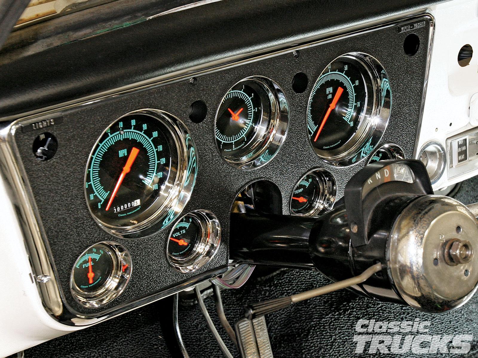 1972 chevy truck dash wiring diagram culligan water softener parts 1969 c10 tachometer 34