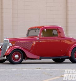 1005sr 02 o 1934 ford coupe left side [ 1600 x 1200 Pixel ]