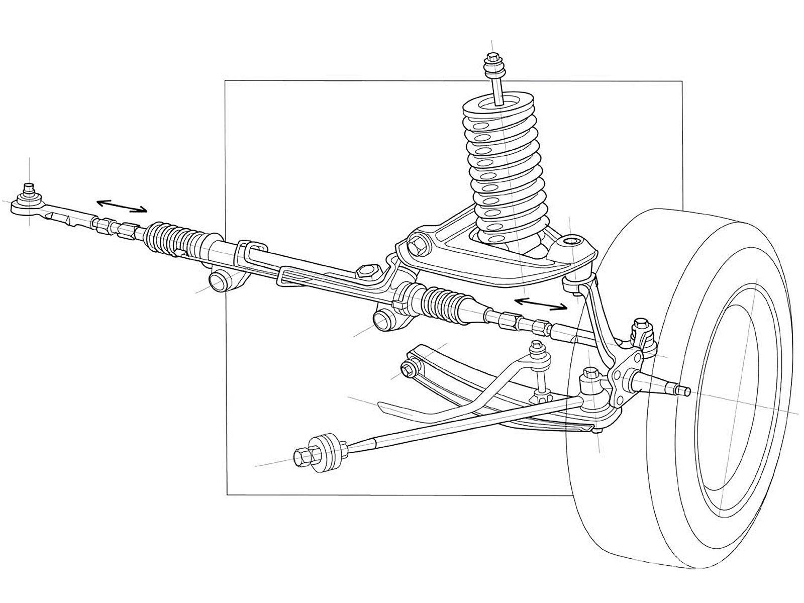 ford drivetrain diagram