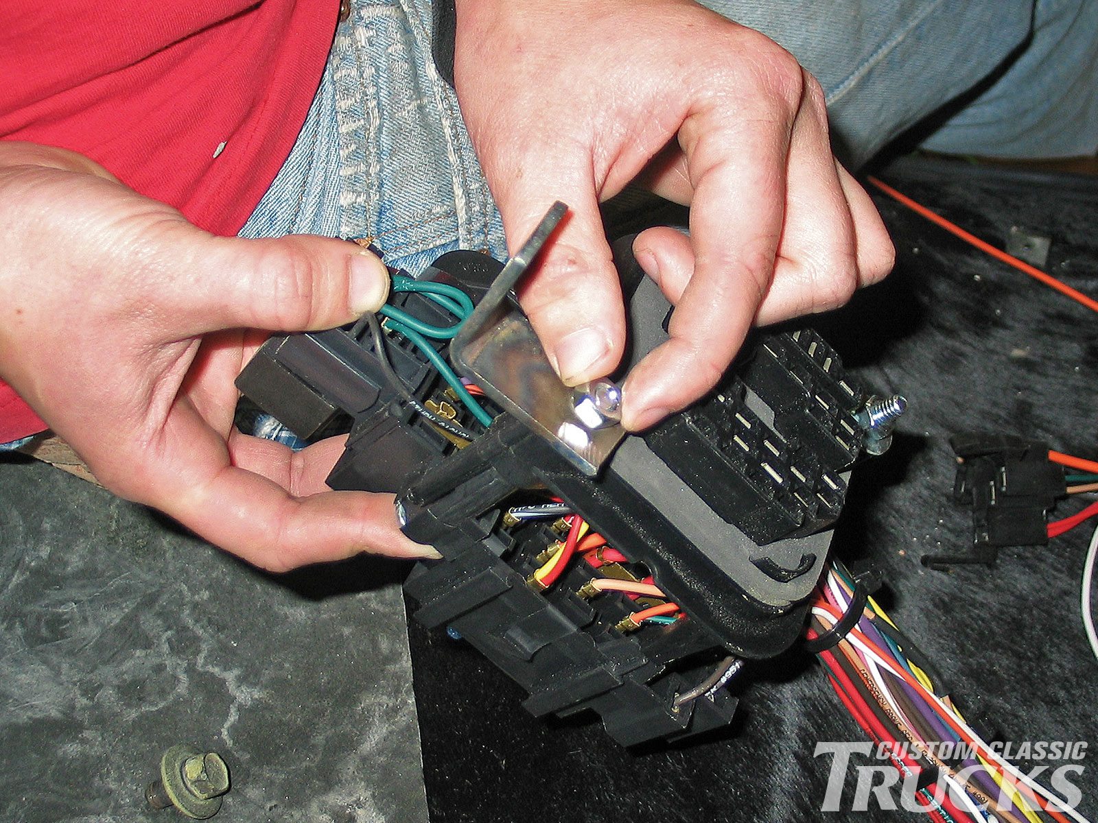 hight resolution of painless performance wiring harness install hot rod network 319179 25 painless fuse box