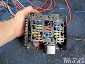 Chevrolet C10 Gets Wiring Upgrade  Hot Rod Network