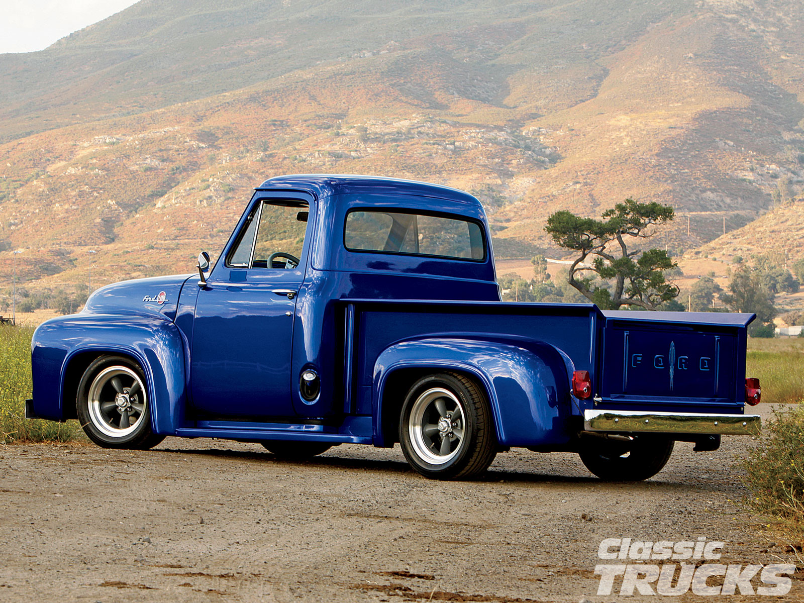 1955 F100 Ford Truck Turbo