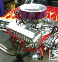 ccrp 1011 12 o ccrp 1011 small block chevy dress up 327 small block pro touring [ 1600 x 1200 Pixel ]