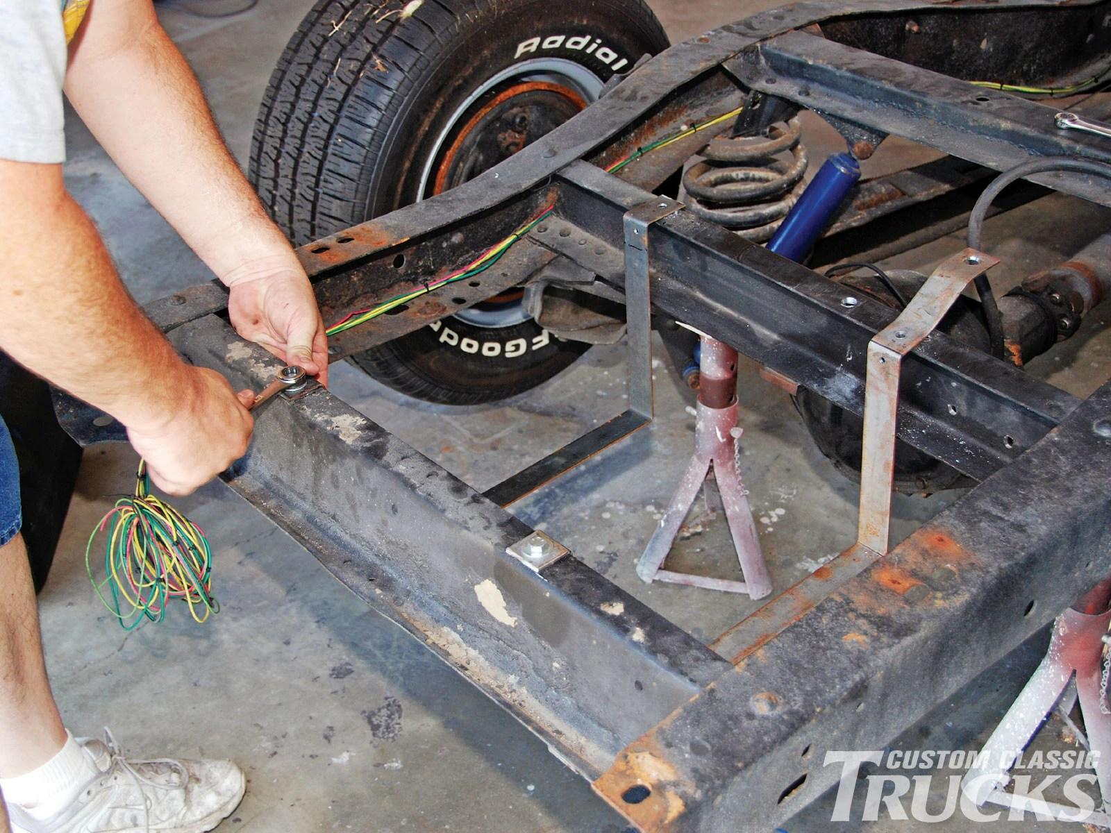 1956 Dodge Truck Wiring Diagrams Chevrolet C10 External Fuel Tank Install Hot Rod Network