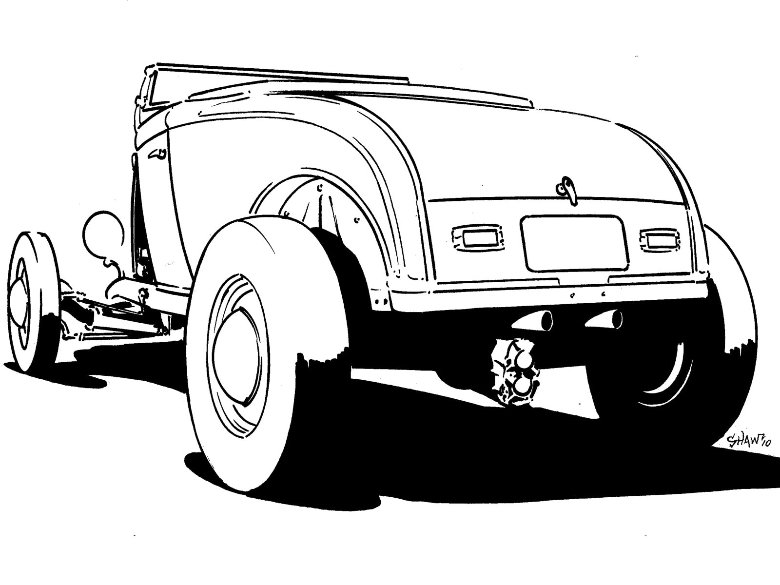 Ford Model A Build Ideas