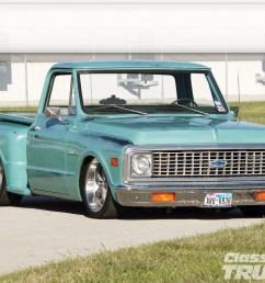1102clt 01 o 1971 chevy c10 front [ 1600 x 1200 Pixel ]