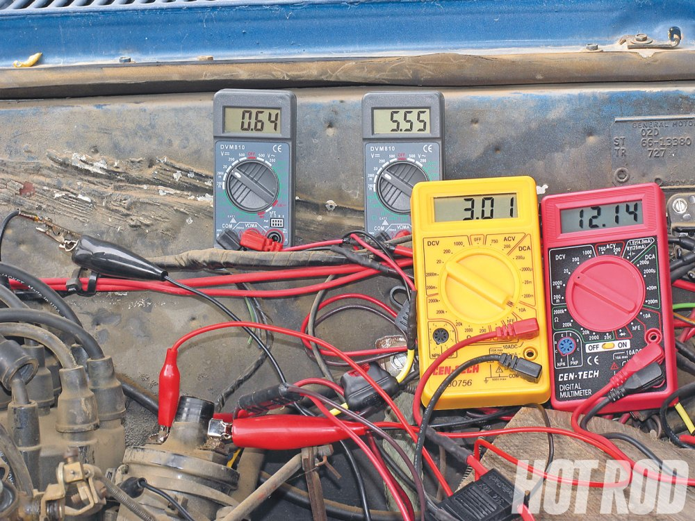 medium resolution of hrdp 1104 03 o gm muscle car tach voltage requirements battery voltage