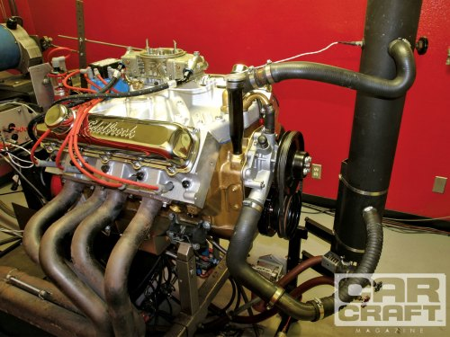 small resolution of ccrp 1105 01 o mild 455 engine on the dyno