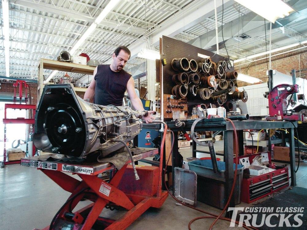 medium resolution of 1106cct 01 o 1973 ford f350 transmission uprgade garage1