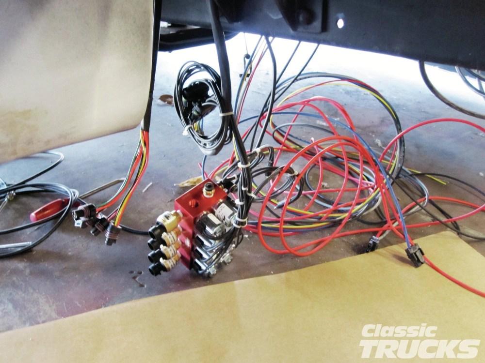 medium resolution of 1957 chevy pickup wiring harness wire center