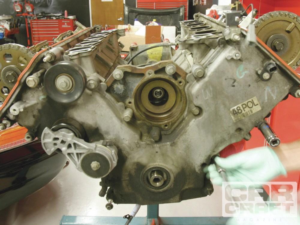 medium resolution of overhead cam 4 6l ford engine rebuild hot rod network rh hotrod com ford 4 6 engine