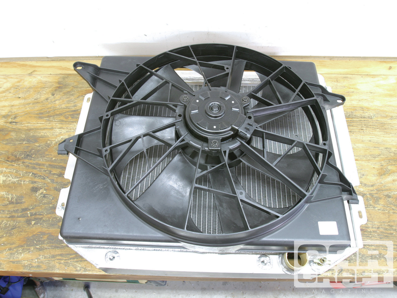 hight resolution of ccrp 1111 02 o electric radiator fans lincoln mark viii1
