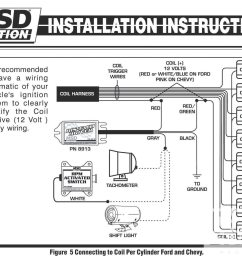 electronic ignition tach install install a tach in a dis car hot hei tachometer wiring tachometer wiring coil [ 1600 x 1200 Pixel ]