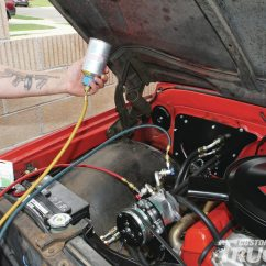1957 Chevy Wiring Diagram Aoa And Aon Network 1968 Chevrolet C10 Air Conditioning Install - Hot Rod