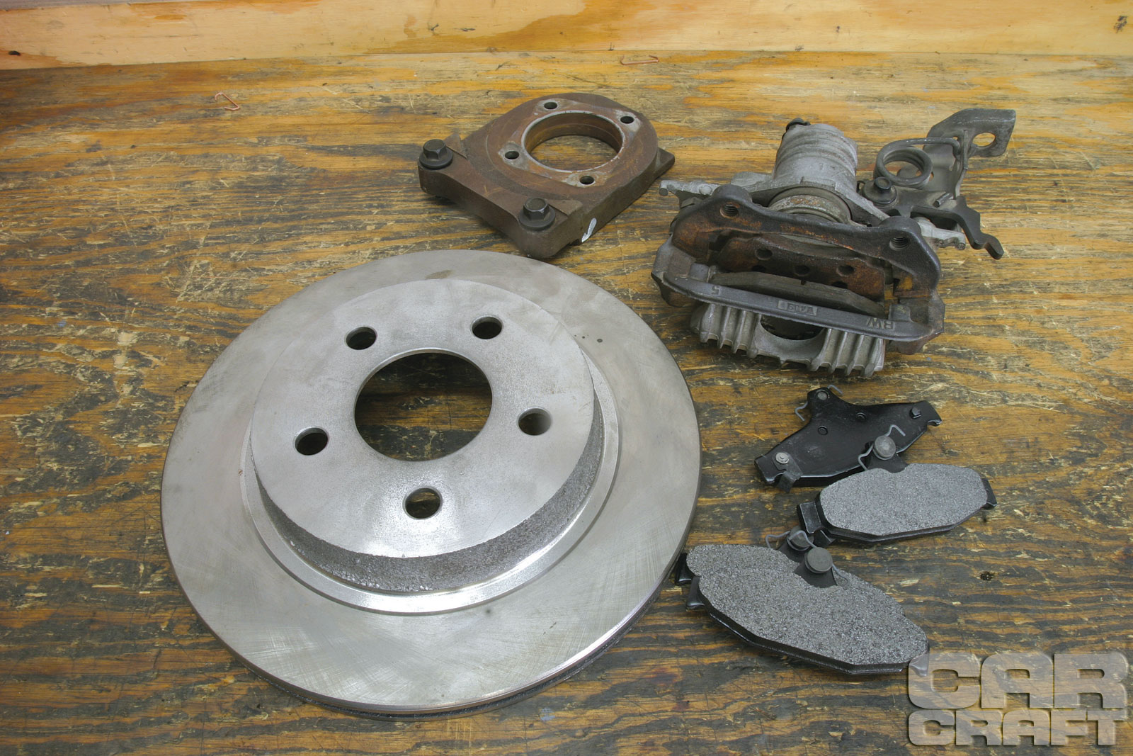 hight resolution of swap your drum brakes with budget gm rear disc brakes 1993 chevy 1500 engine belt diagram chevy 454 diagram