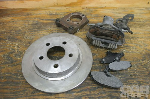 small resolution of swap your drum brakes with budget gm rear disc brakes 1993 chevy 1500 engine belt diagram chevy 454 diagram