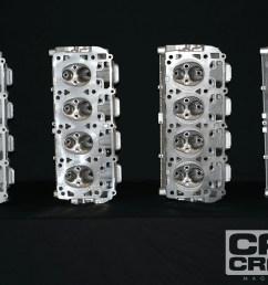 5 7 hemi 6 1 hemi 6 4 hemi cylinder head comparison [ 1600 x 1200 Pixel ]