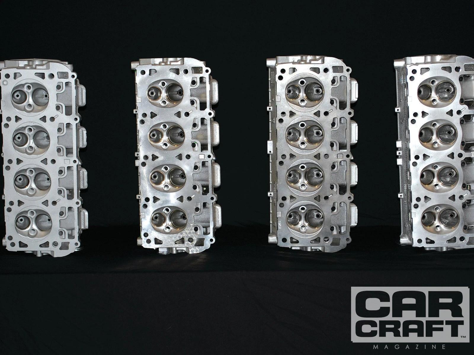 hight resolution of 5 7 hemi 6 1 hemi 6 4 hemi cylinder head comparison