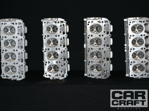 small resolution of 5 7 hemi 6 1 hemi 6 4 hemi cylinder head comparison