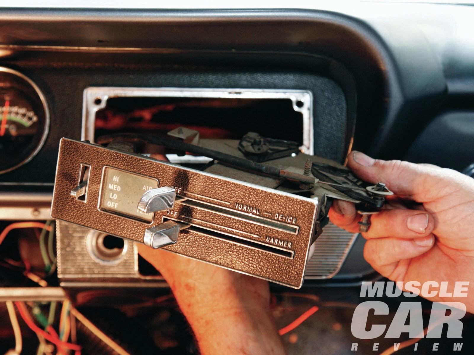 Ac Pressure Switch Wiring Diagram 1965 Pontiac Gto A C Install Chillin A Goat Hot Rod