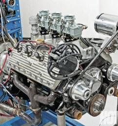 hrdp 1301 18 flathead ford intake manifold smackdown test engine [ 1600 x 1200 Pixel ]